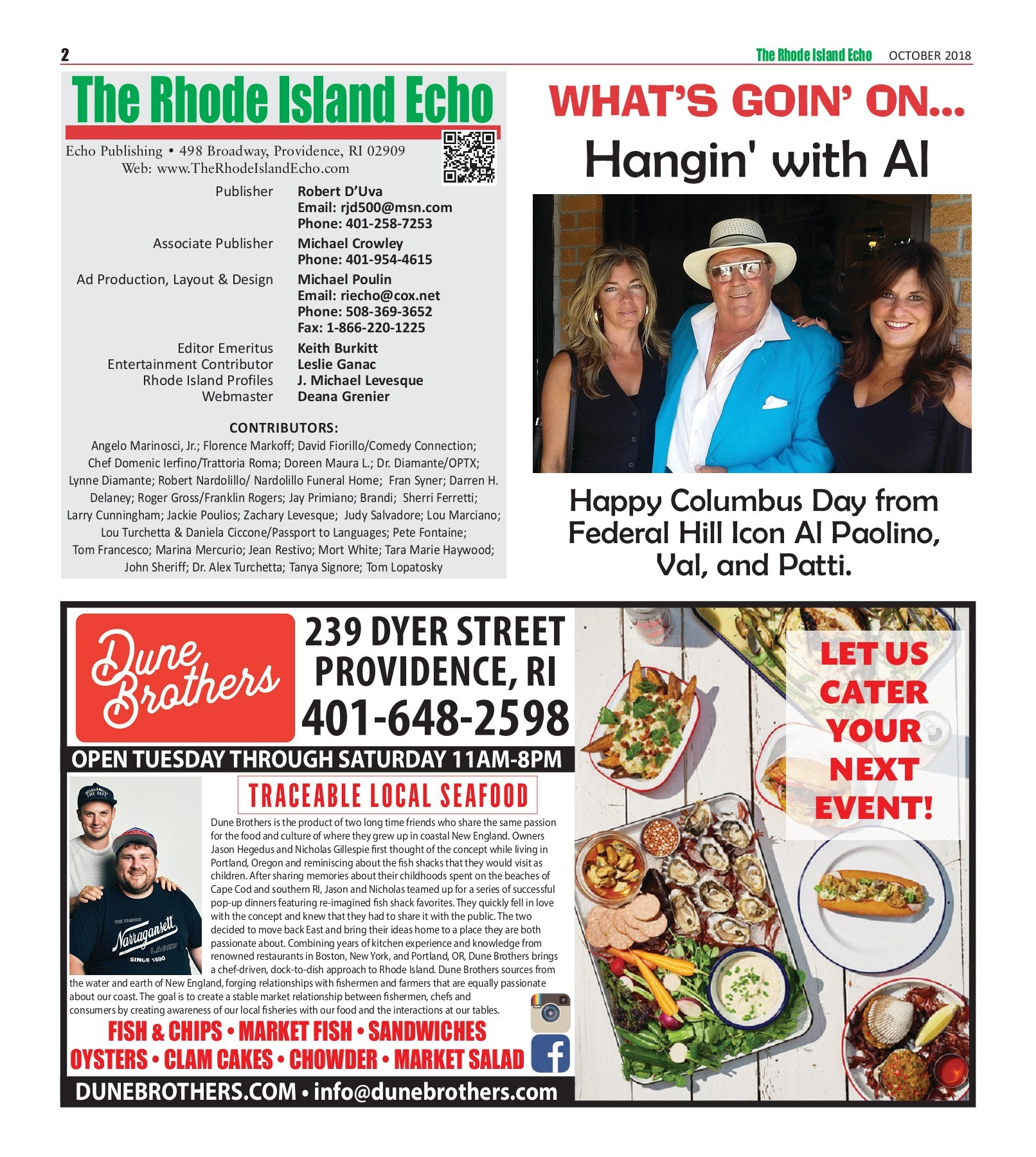 Mia Cucina Pune The Rhode Island Echo October 2018 Pages 1 50 Text Version
