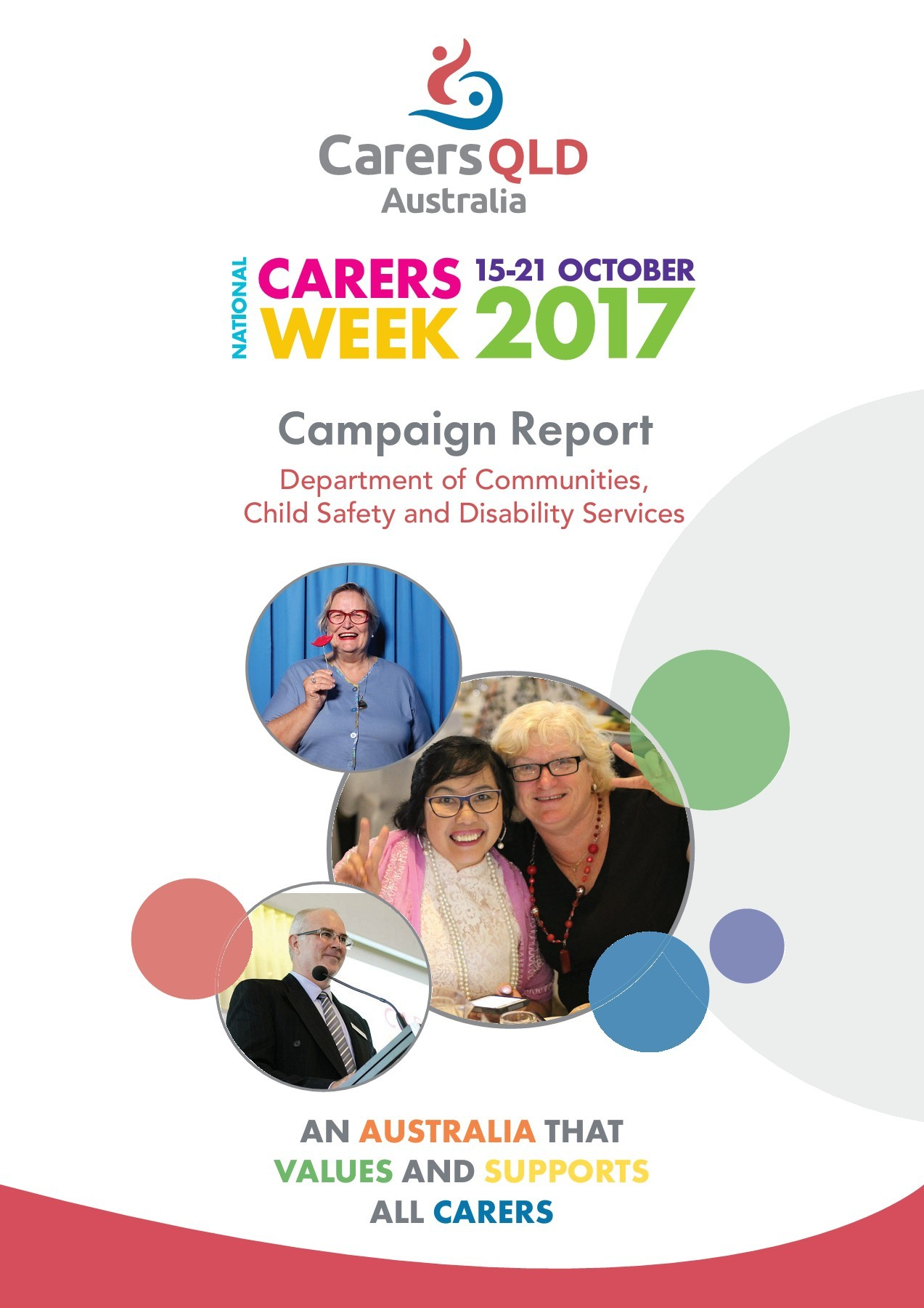 Child Services Qld Carers Week 2017 Campaign Report Qld Government Pages 1 20