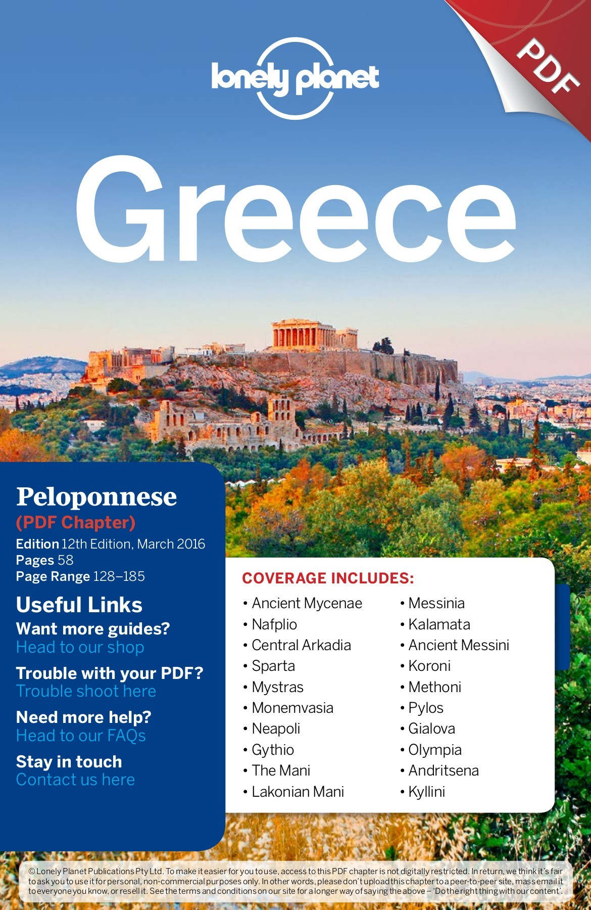 La Cucina Pylos Menu Lonely Planet Greece Pages 1 50 Text Version Fliphtml5