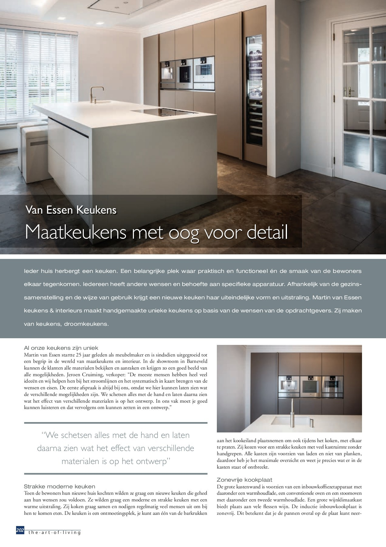 Goedkope Keukens Ter Aar The Art Of Living Nummer 2 2018 Nl Pages 201 250 Text