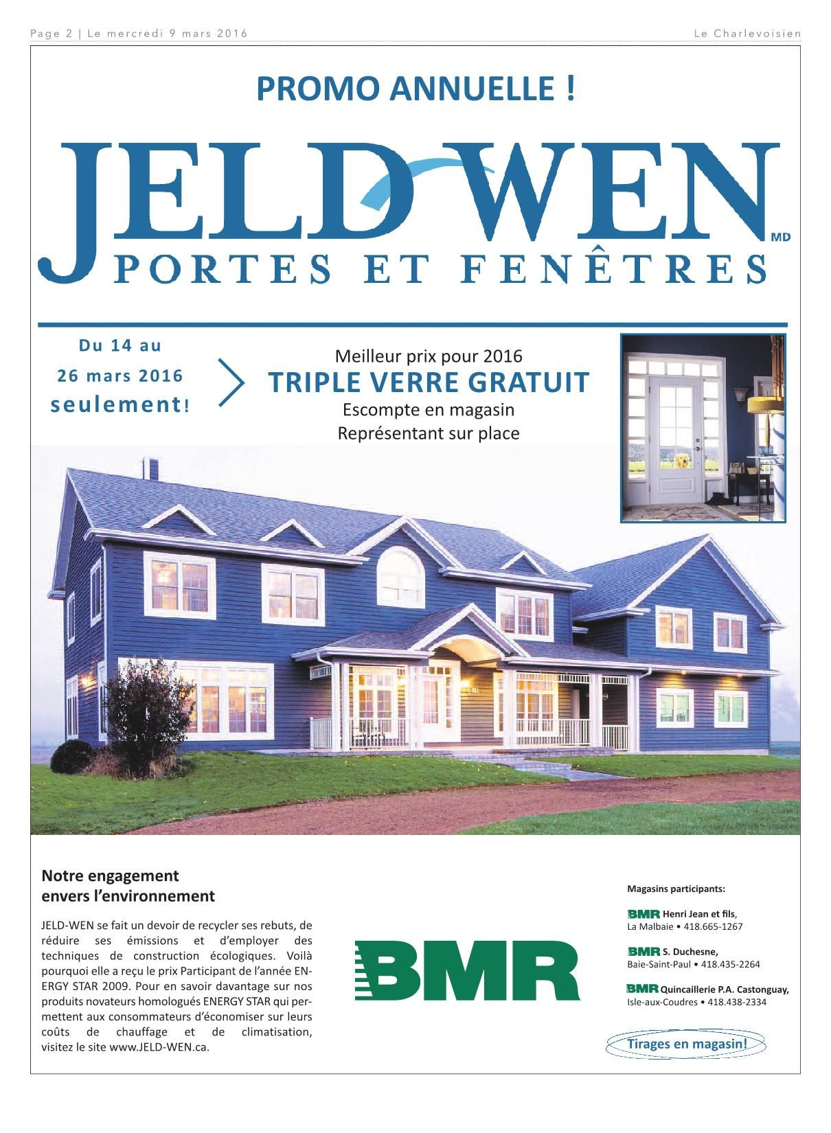 Porte De Maison Bmr Le Charlevoisien 9 Mars 2016 Pages 1 40 Text Version Fliphtml5