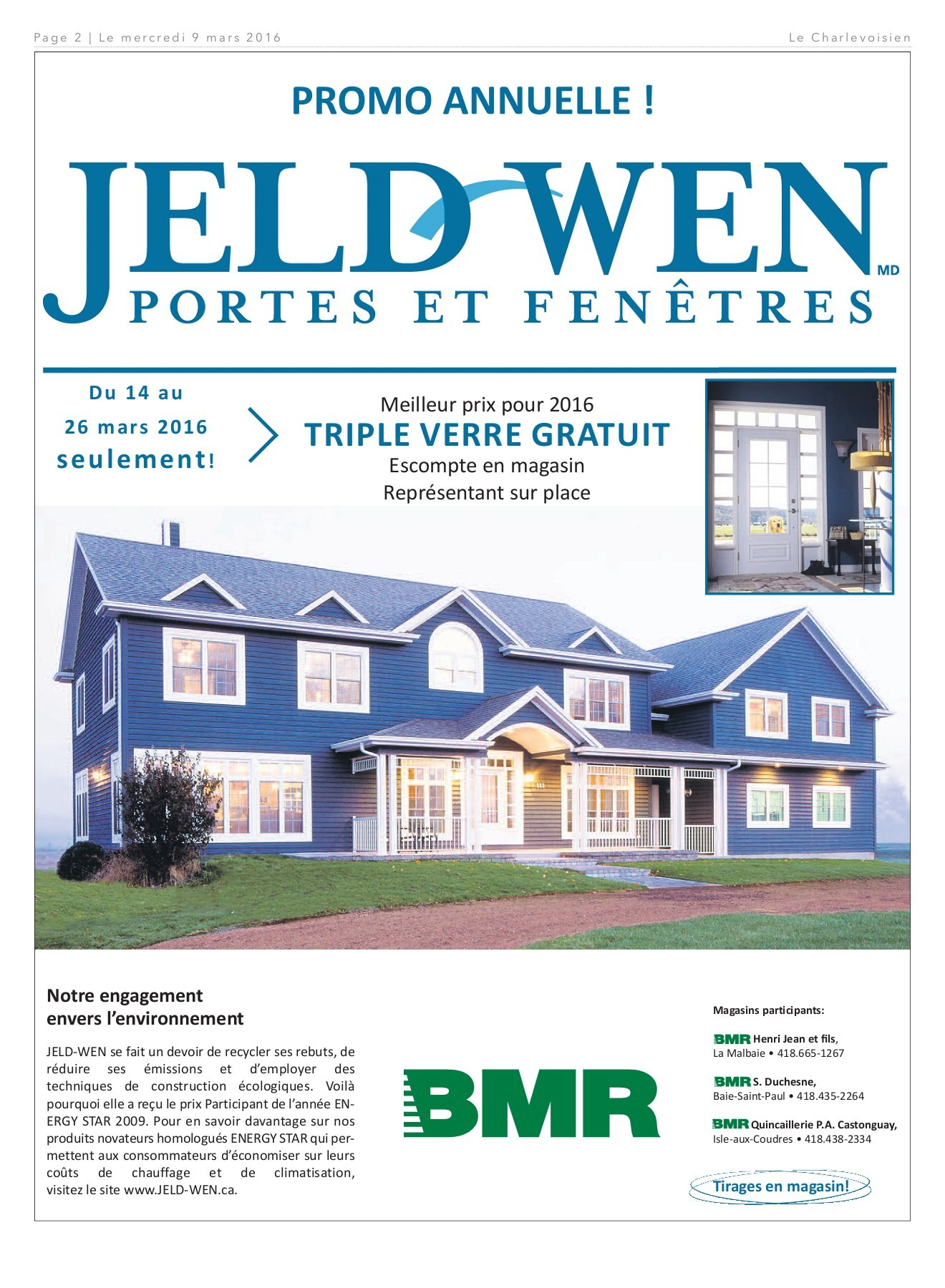 Lumiere Exterieur Bmr Le Charlevoisien 9 Mars 2016 Pages 1 40 Text Version Fliphtml5