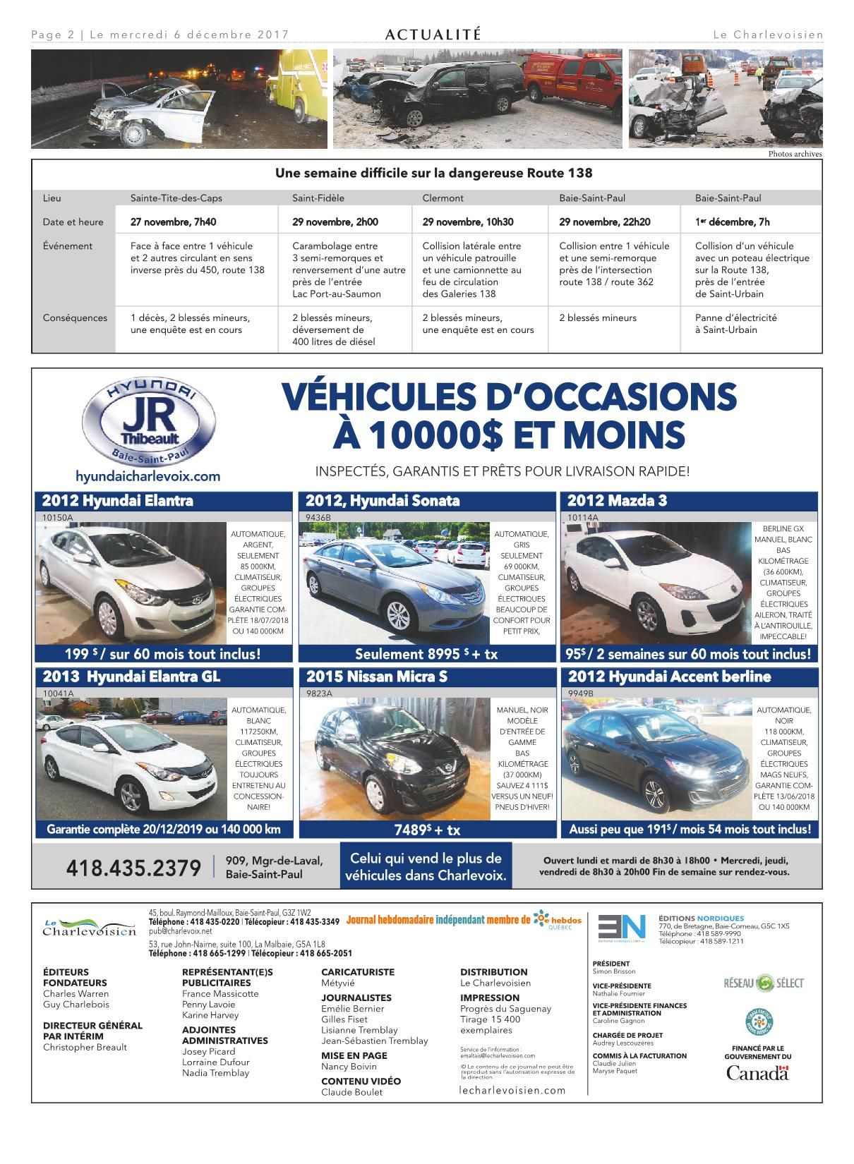 Meubles Accent Dolbeau-mistassini Le Charlevoisien 6 Décembre 2017 Pages 1 32 Text Version