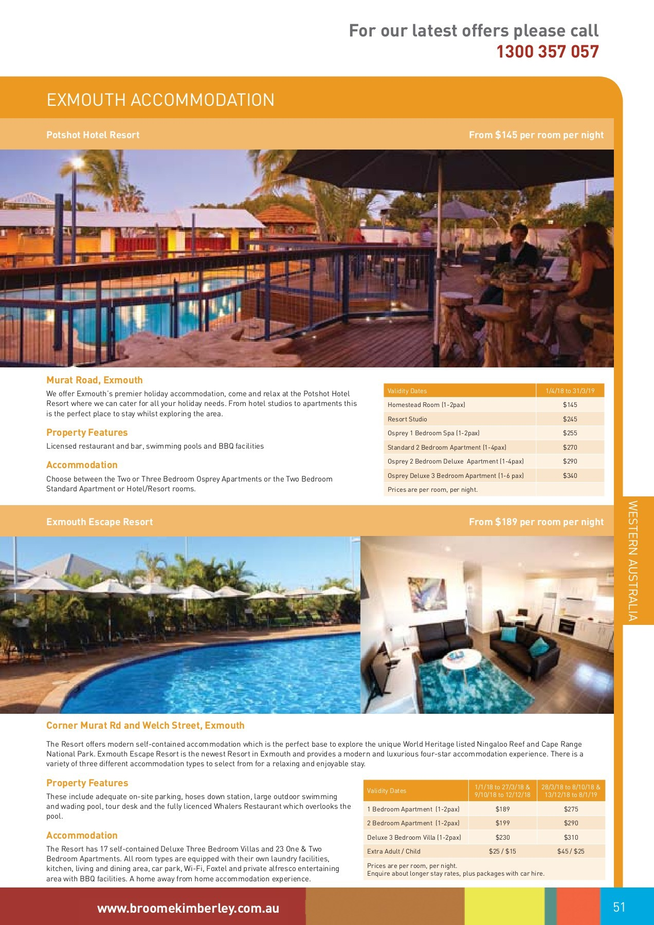 Cucina Restaurant Hillarys Broome Kimberley Beyond 2018 2019 Pages 51 100 Text Version