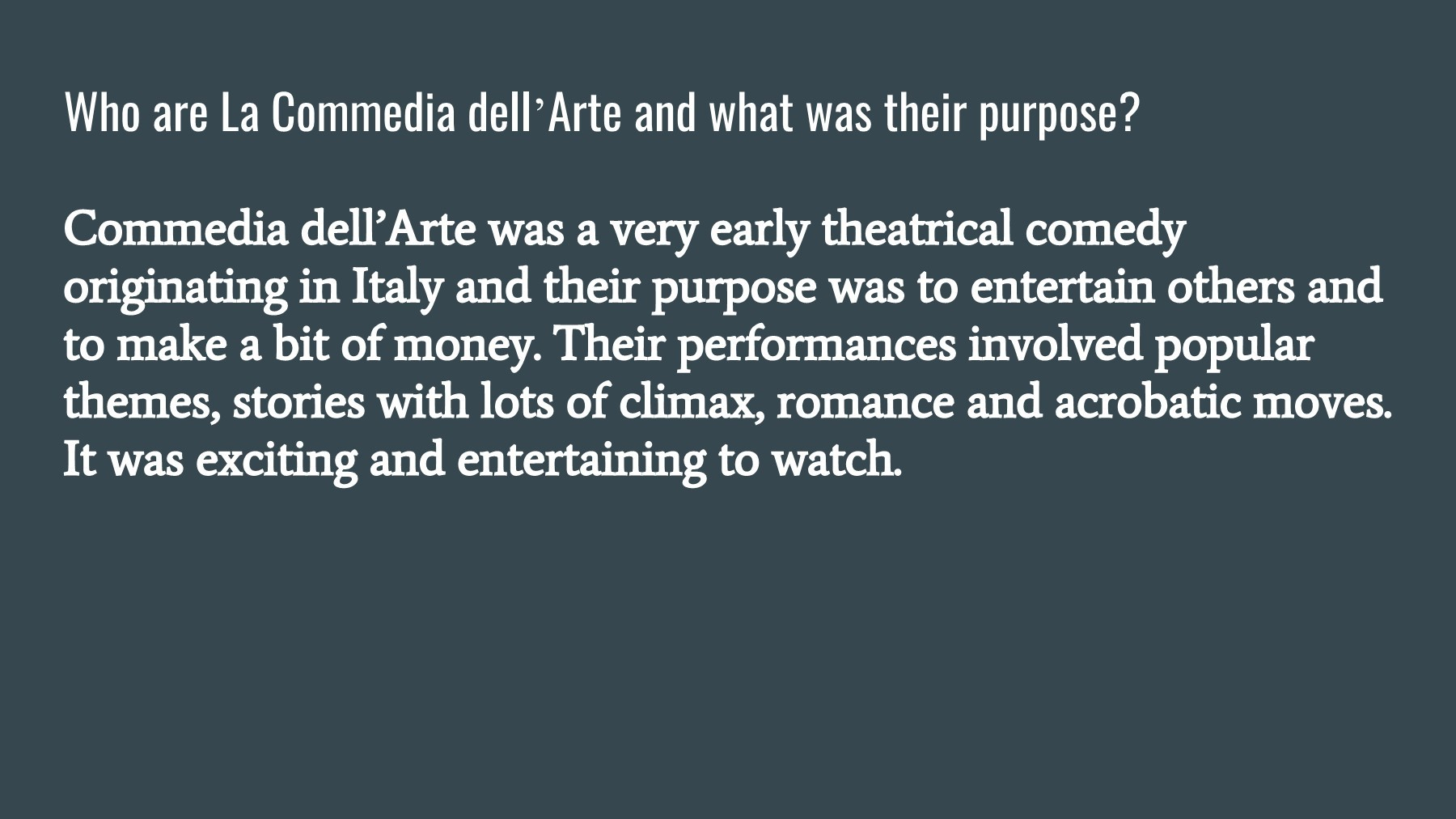 Arte Latin Translation Commedia Dell Arte Pages 1 14 Text Version Fliphtml5