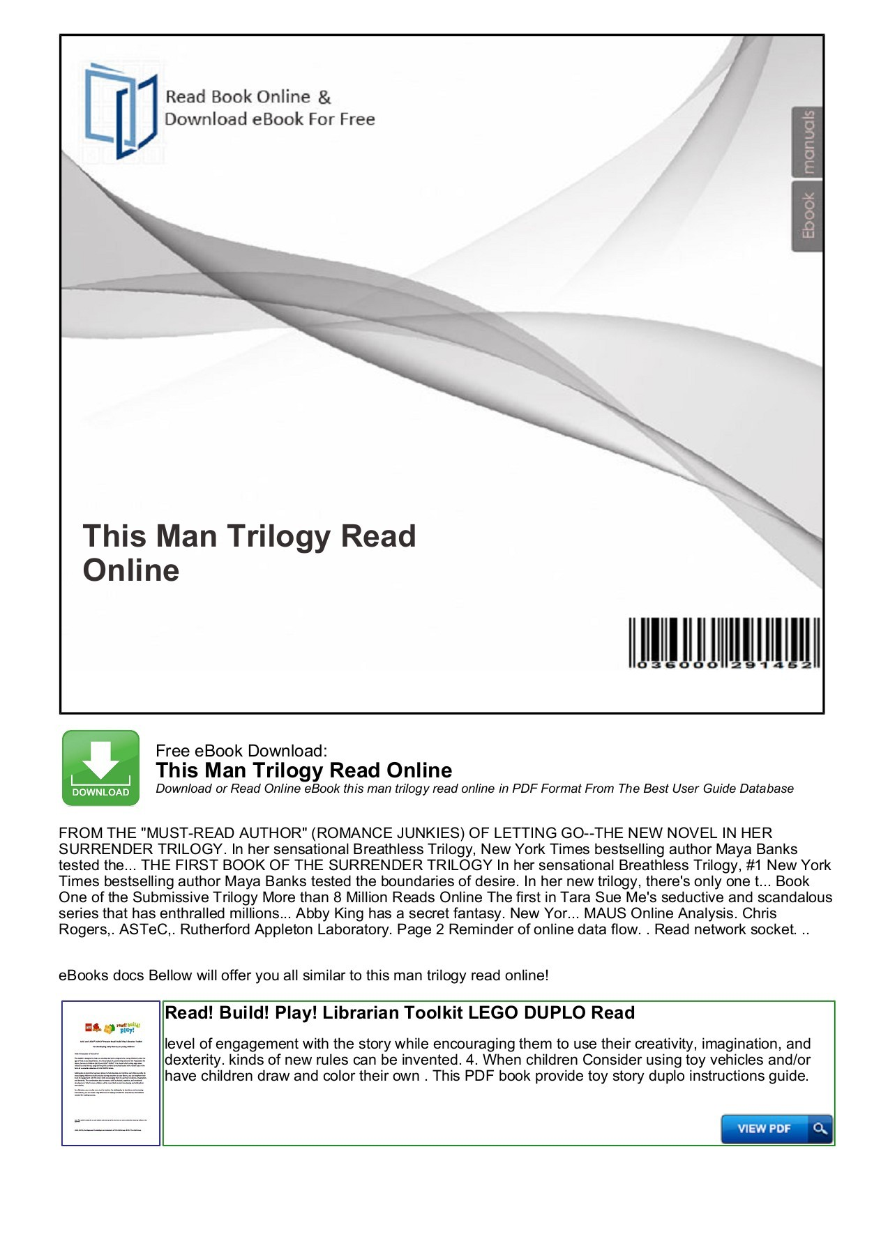 Read The Book Online This Man Trilogy Read Online Productmanualguide Fliphtml5