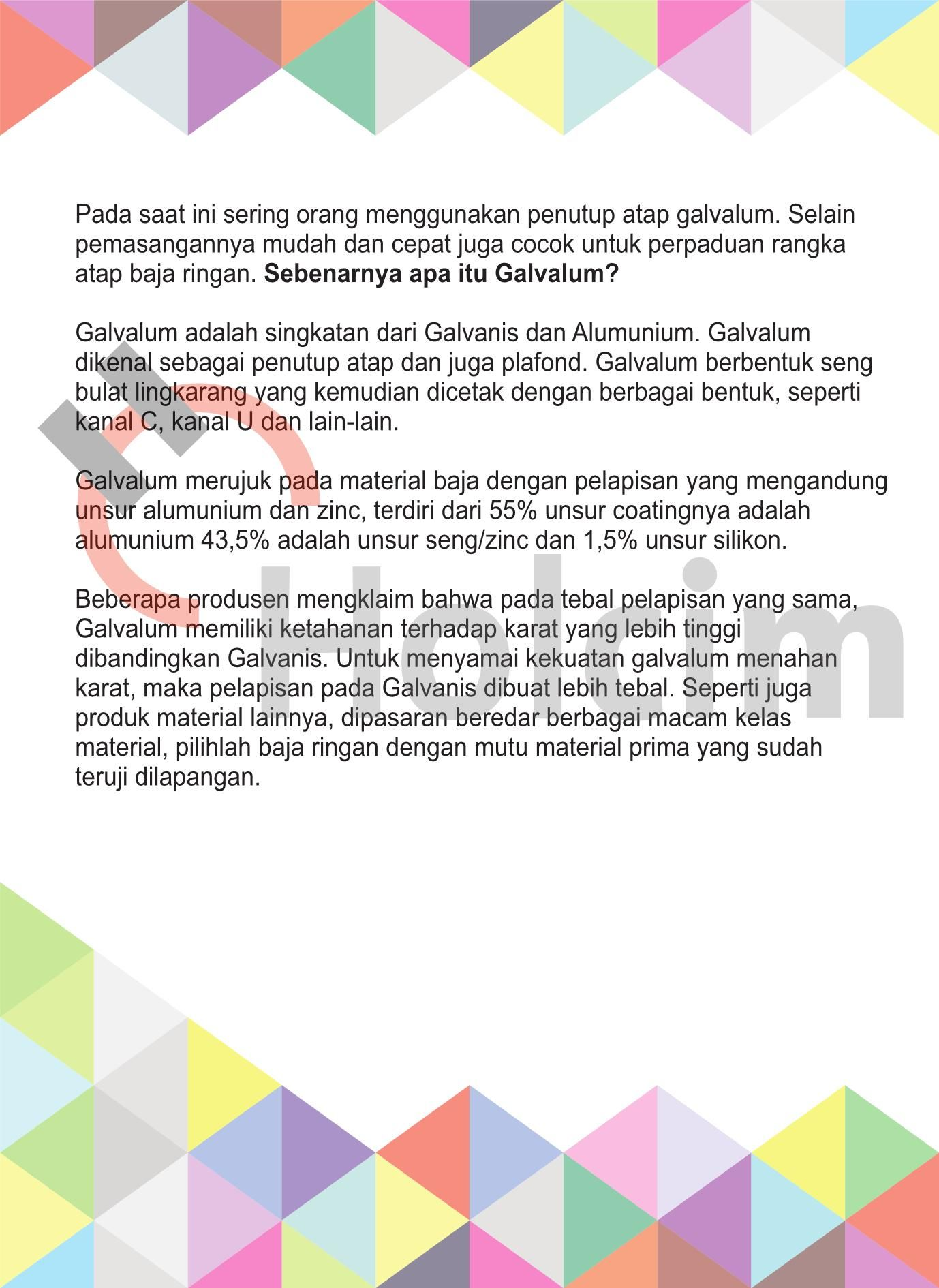 Apa Itu Galvalum Coba Pages 1 3 Text Version Fliphtml5