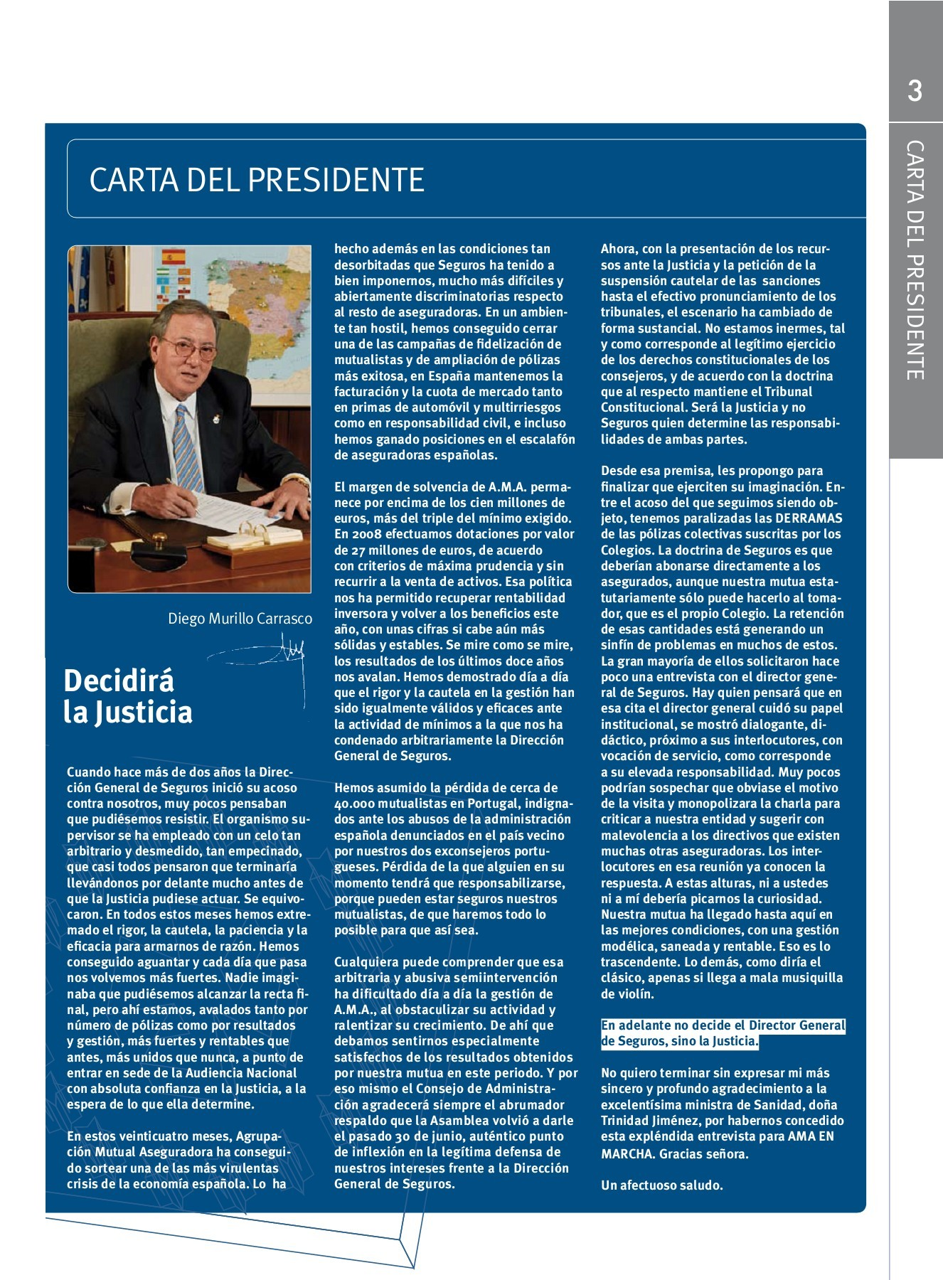 Mutualidad General Del Hogar Revista A M A En Marcha Número 97 Pages 1 47 Text Version