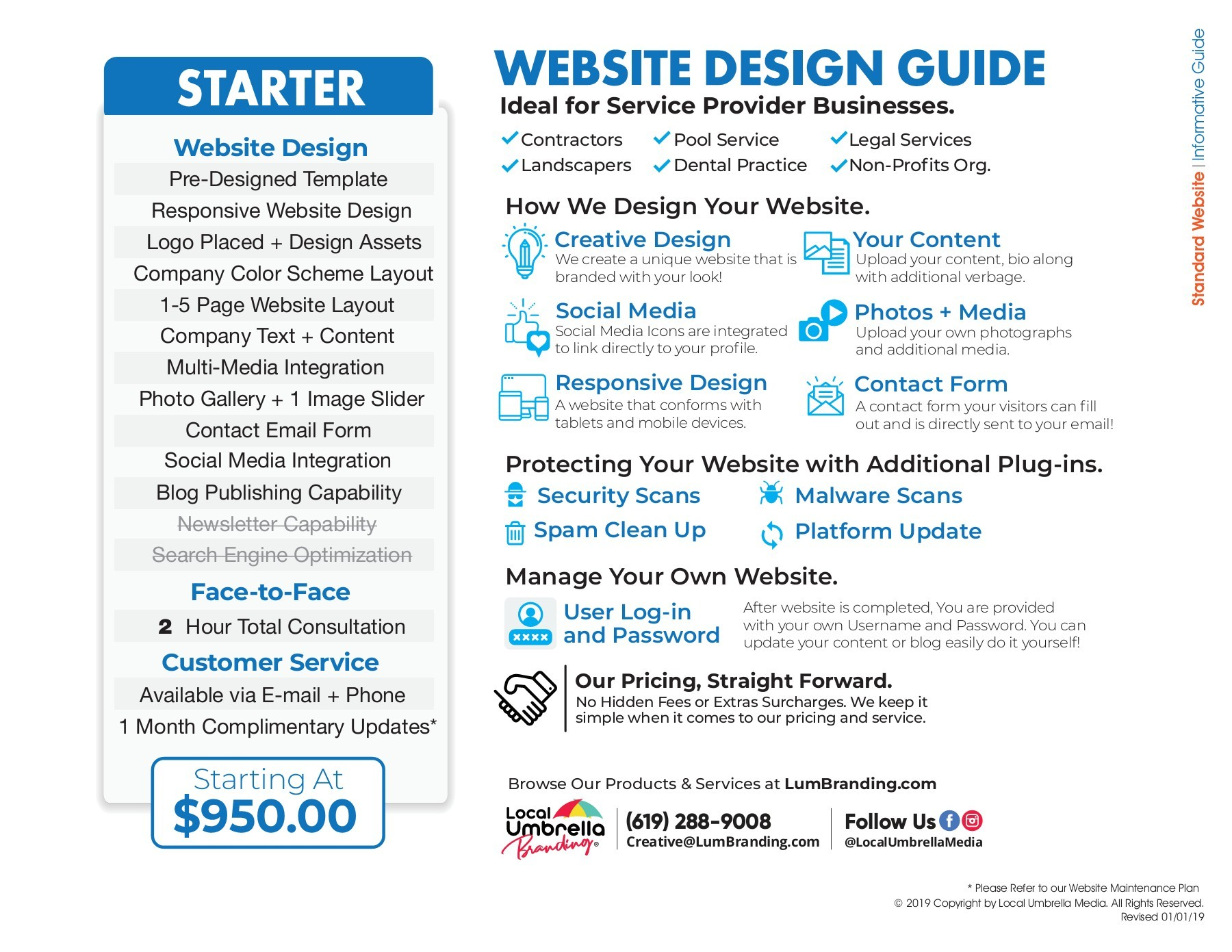 Web Design Standard Invoice How We Do It Flipbook By Local Umbrella Media Publications Fliphtml5