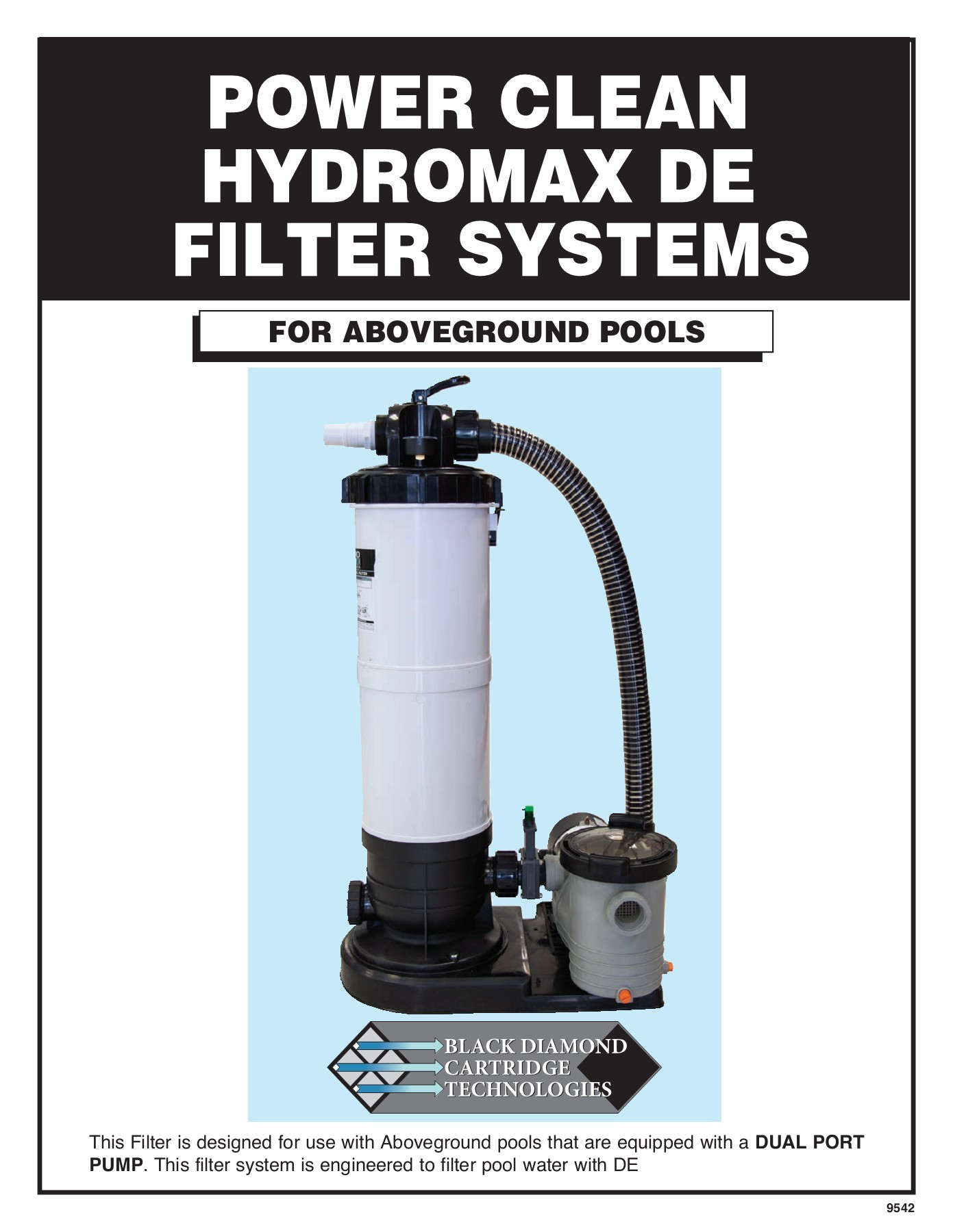 Pool Filter Pump Pressure Too High 9542 Hydromax De Instructions Pages 1 16 Text Version Fliphtml5