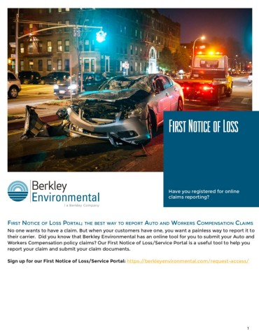 First Notice of Loss - Boston FlipHTML5