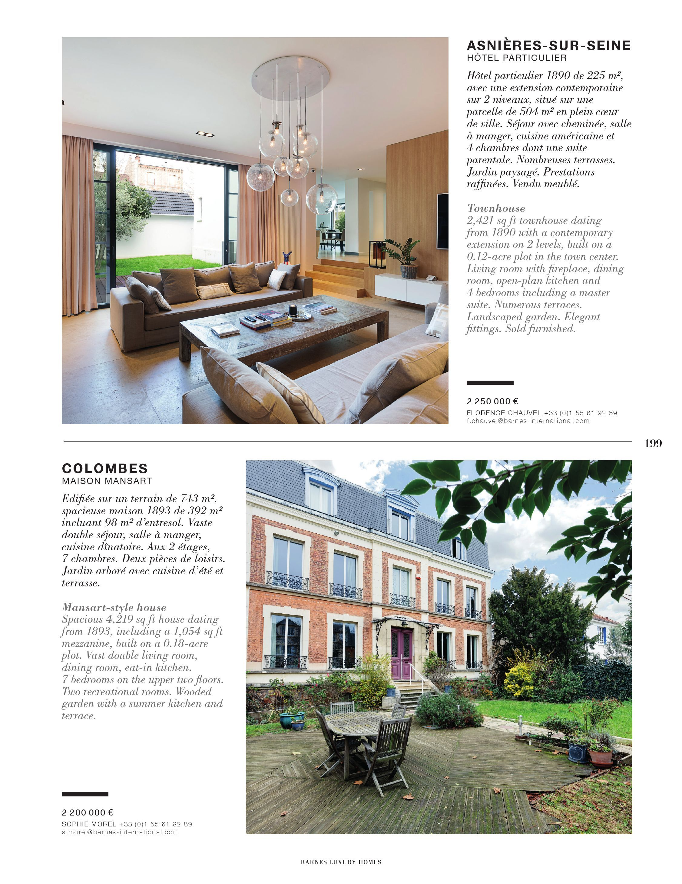 Cheminees Fontaine Pacé Barnes Luxury Homes 22 Pages 201 250 Text Version