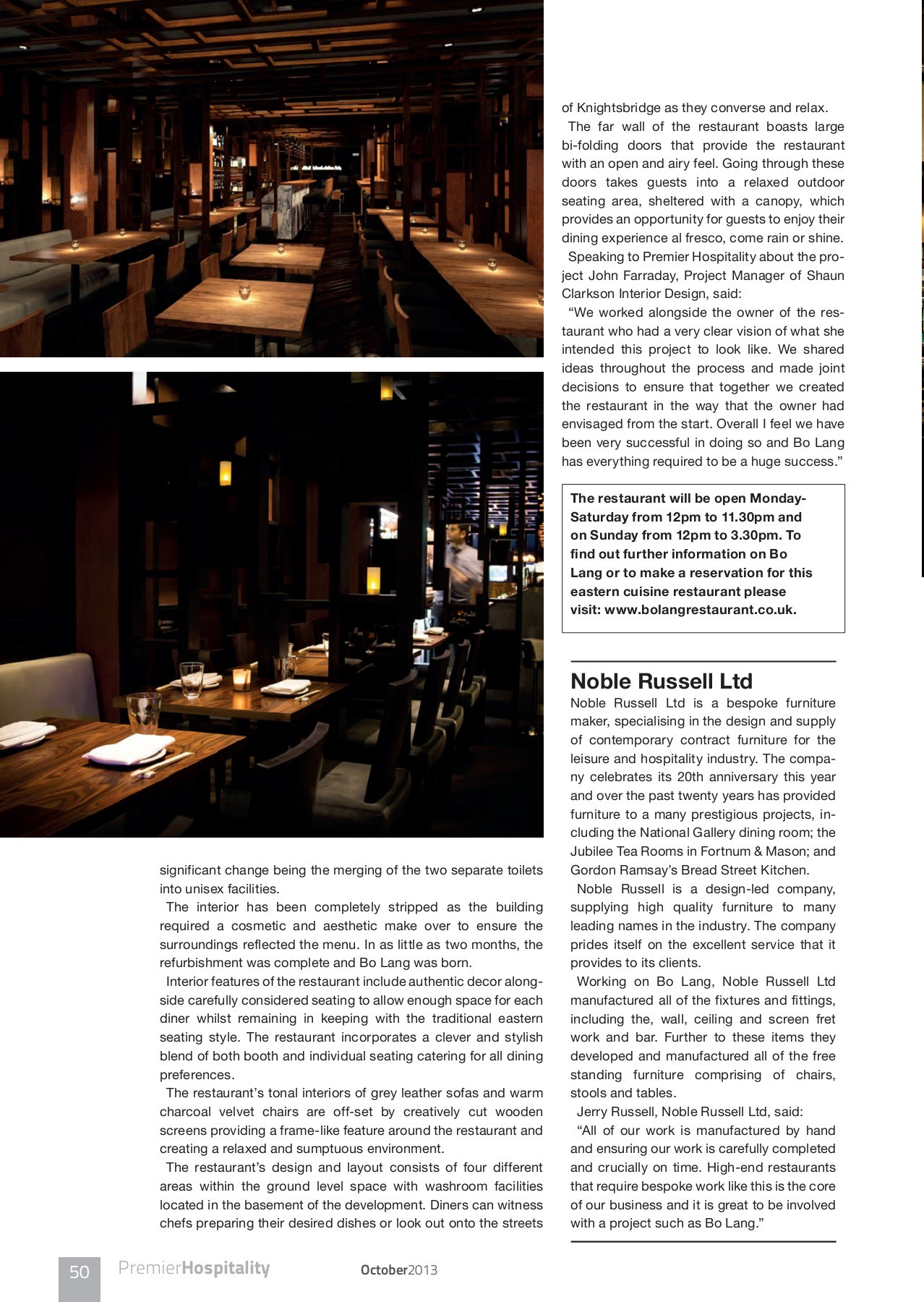 40 Tivoli Terrace East Dun Laoghaire Premier Hospitality Magazine Issue 2 4 Pages 51 100 Text