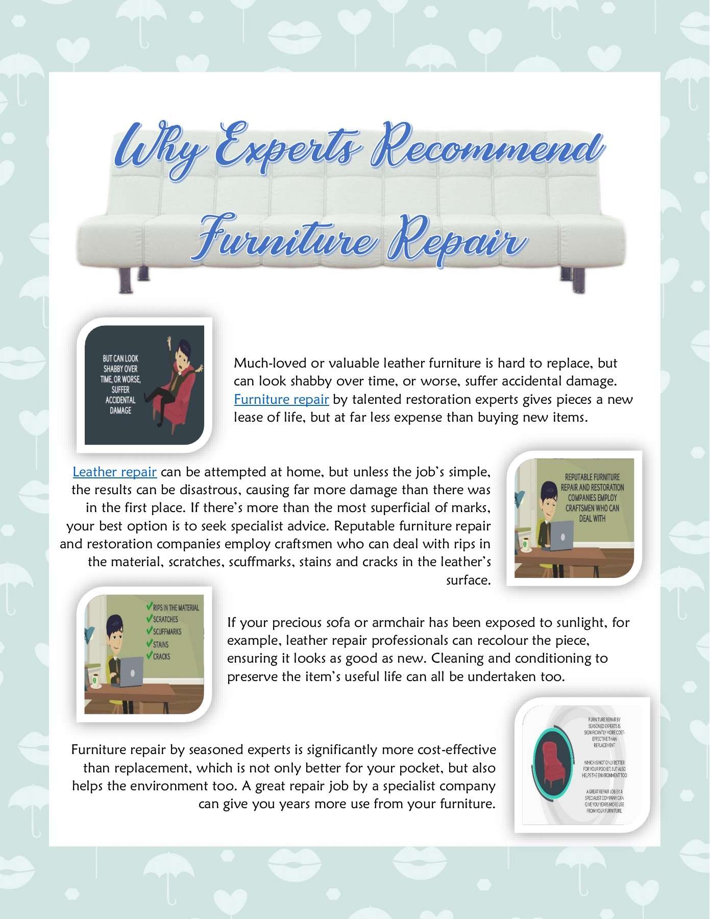 Why Experts Recommend Furniture Repair Flip Book Pages 1 1 Pubhtml5