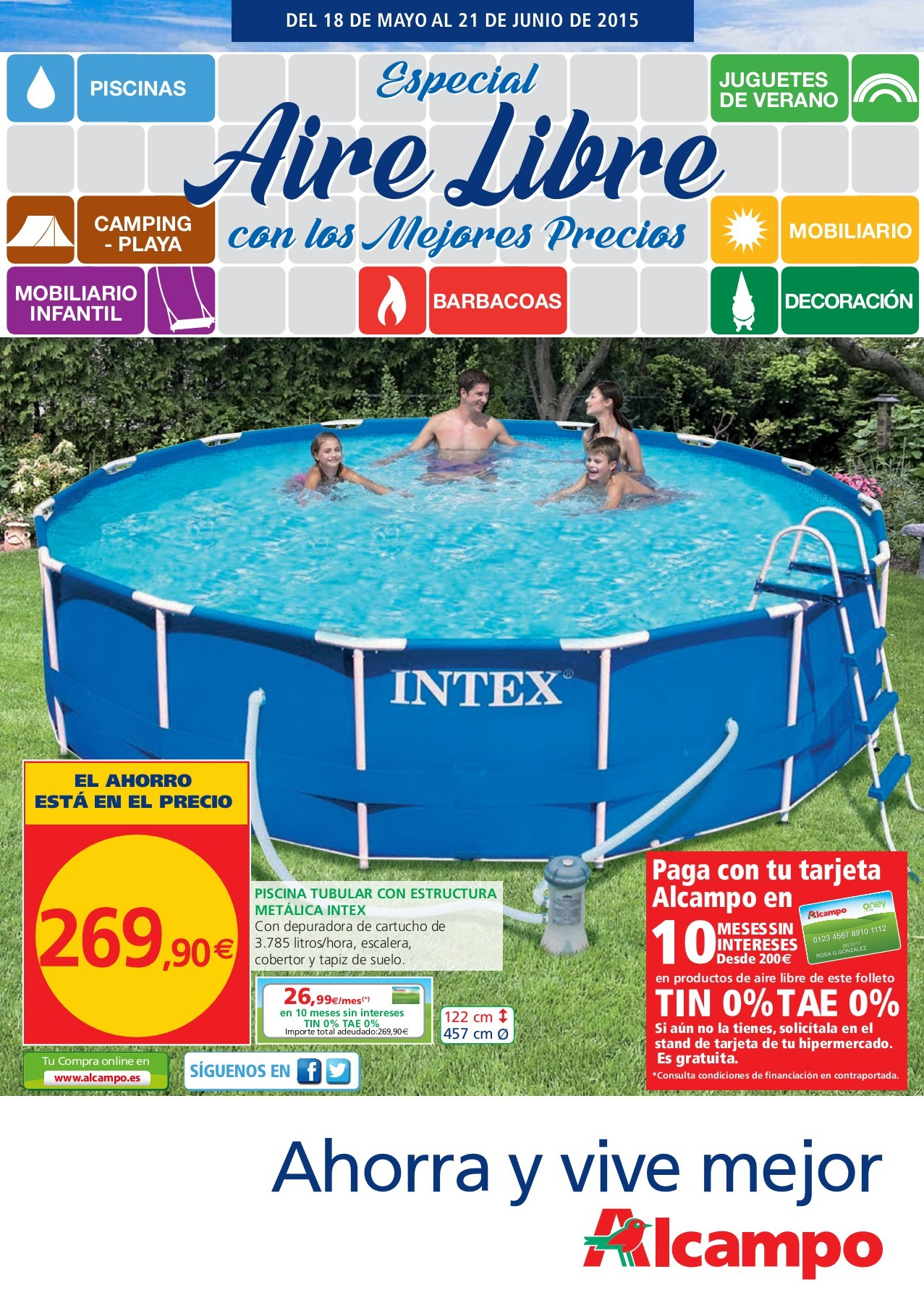 Piscinas Hinchables Con Depuradora Carrefour Especial Aire Libre Outdoor Verano 2015 Pages 1 37 Text