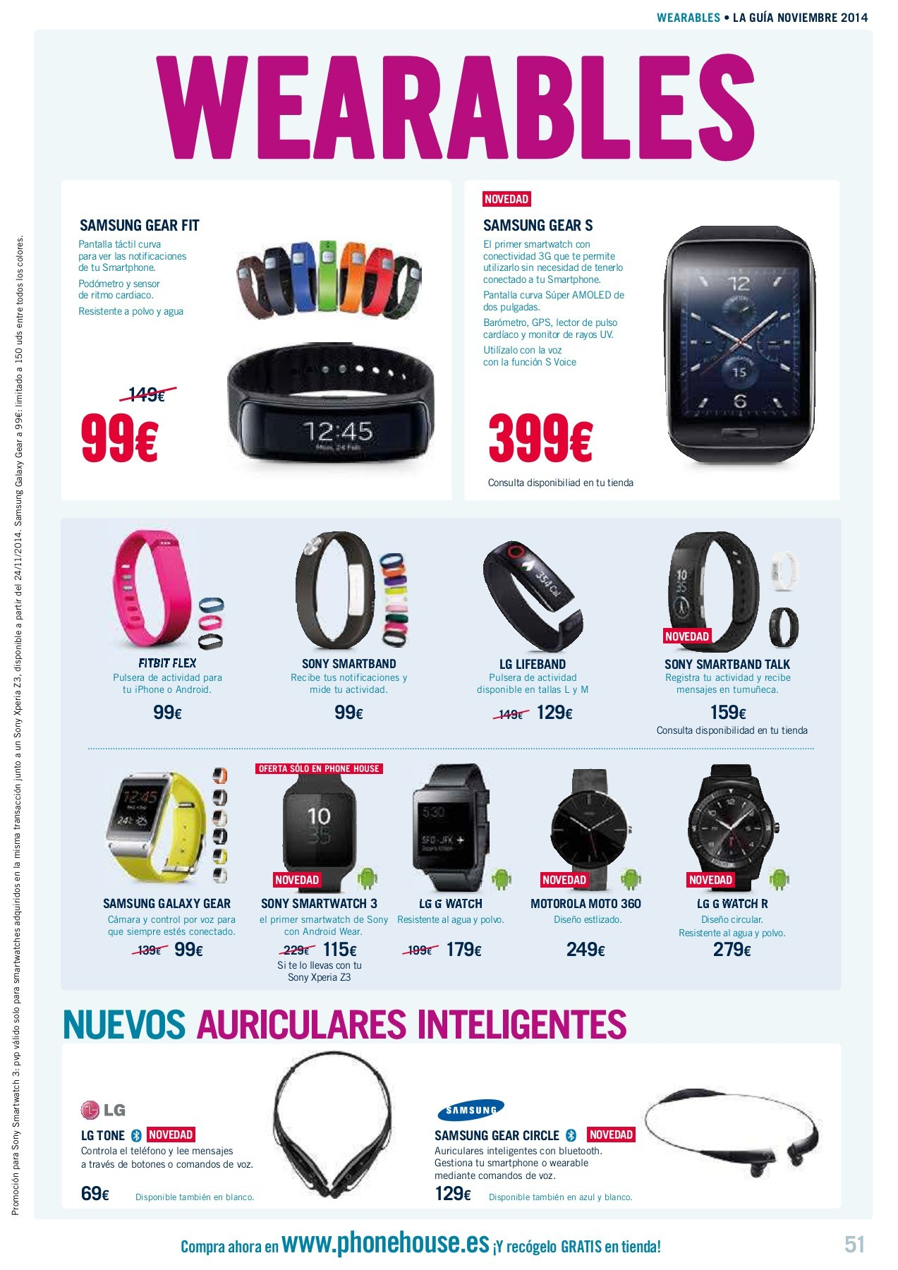Phone House Moviles Libres Catalogo Phone House Ofertas 01 11 2014 Pages 51 56 Text Version