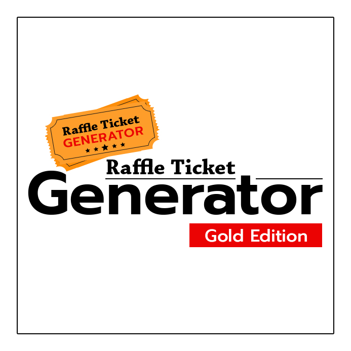 Raffle Ticket Generator Gold Editions w/6 Months support - Wordpress - raffle ticket