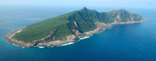 One of the disputed Senkaku Islands
