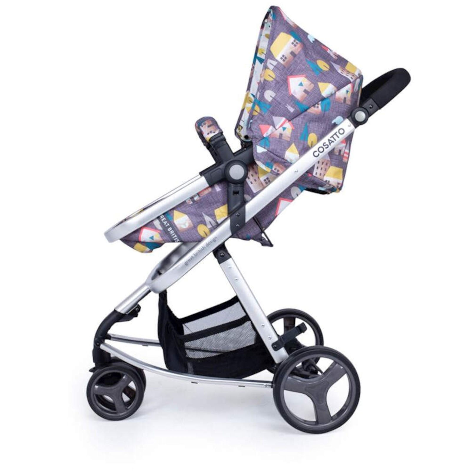 Reclining Travel Pushchair Cosatto Giggle Mix Pramette Hold Travel System Hygge