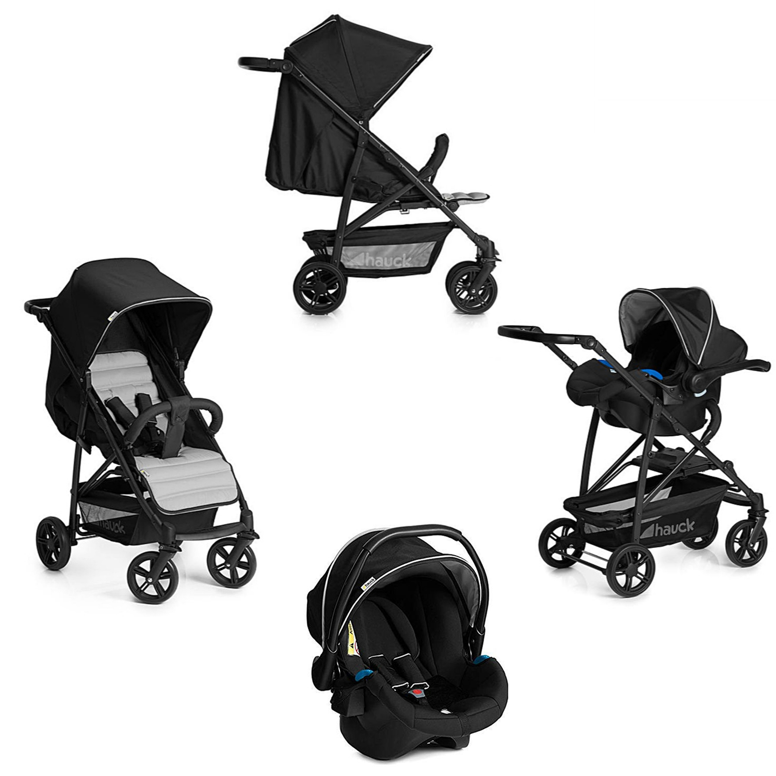 Stroller Travel System Ebay Details About New Folding Pushchair Car Seat Travel System With Rain Cover