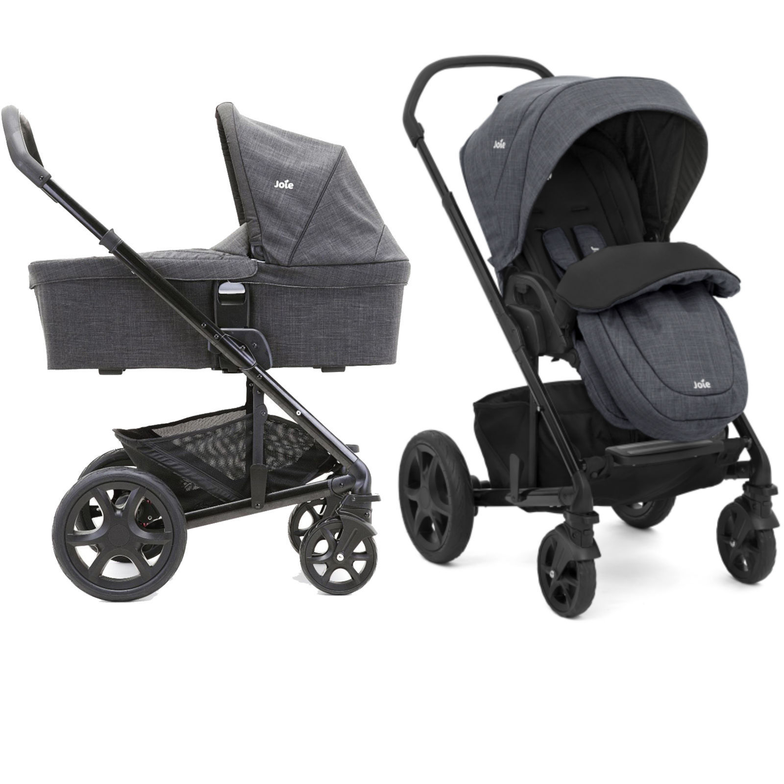 Joie Buggy Chrome Test Joie Chrome Dlx Pushchair Inc Footmuff Carrycot