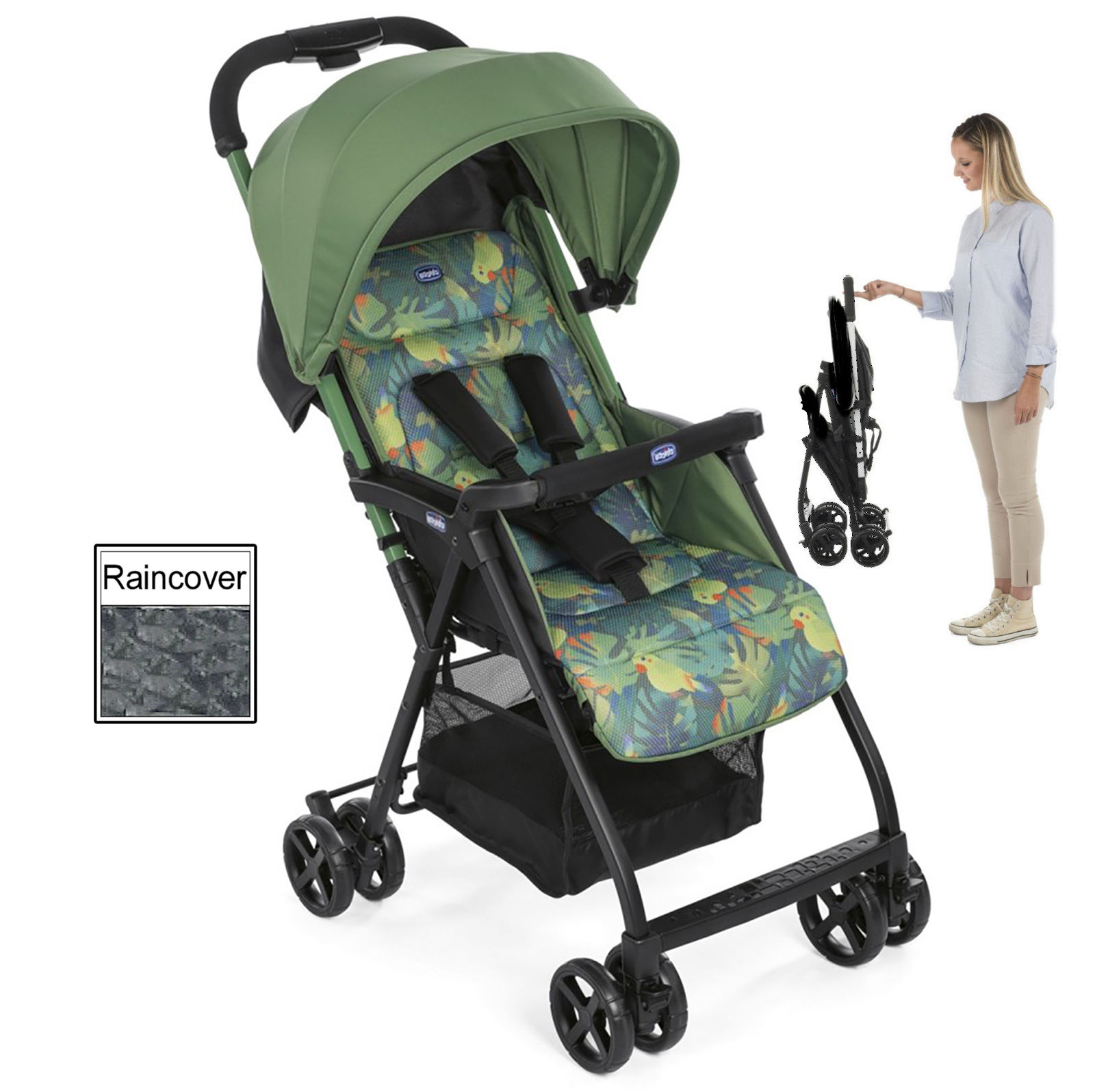 Pram Stroller India Chicco Ohlala Stroller Special Edition Tropical Jungle