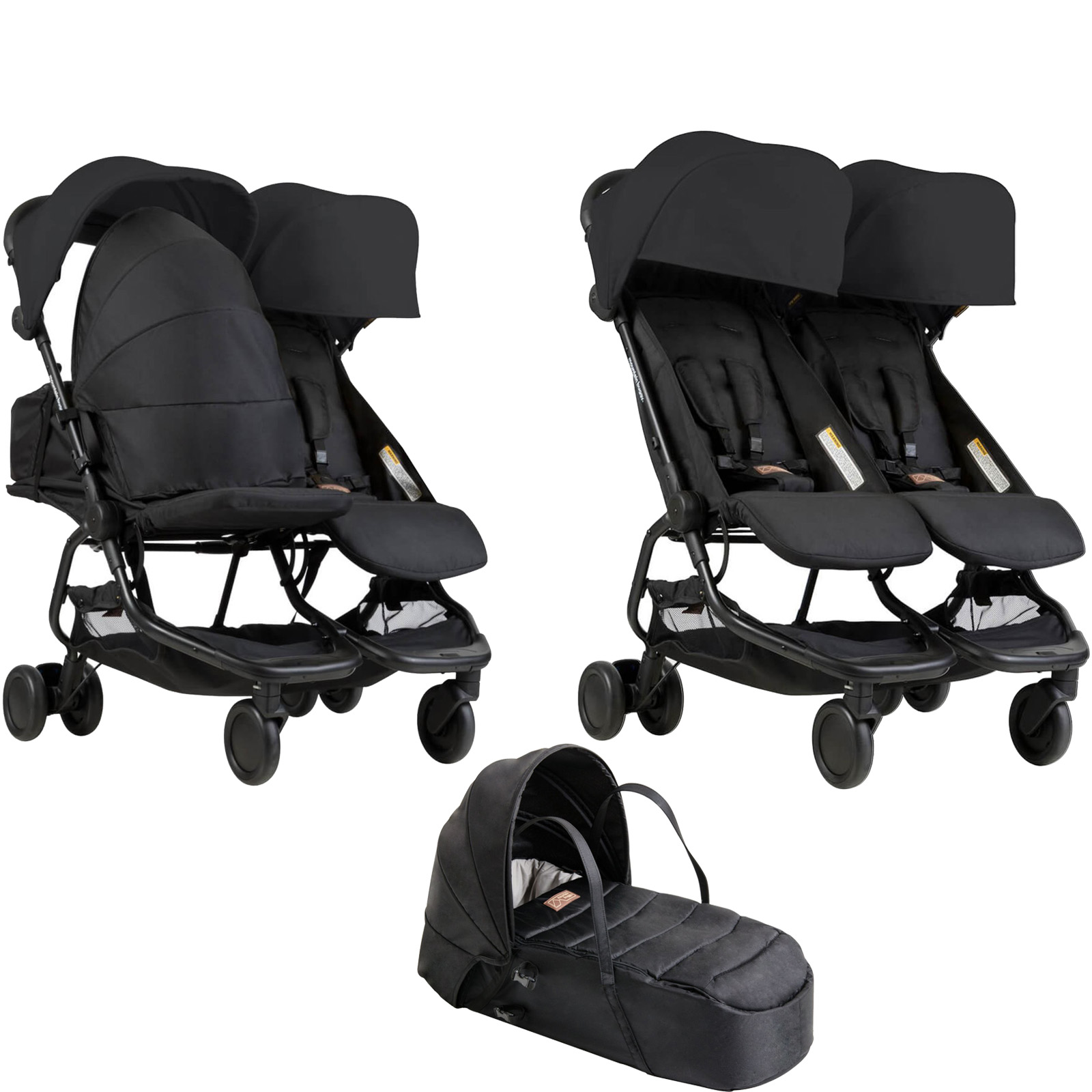 Mountain Buggy Car Seat Installation Mountain Buggy Nano Duo Twin Pushchair Cocoon Carrycot
