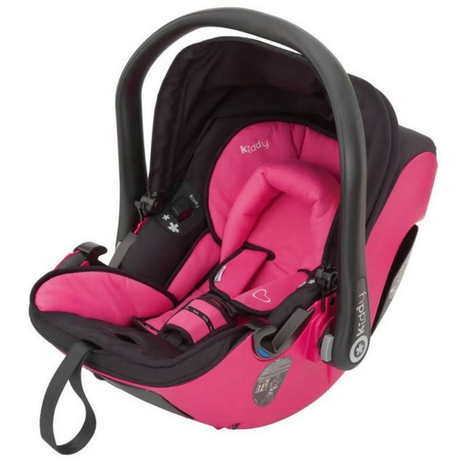 Infant Rocker Carrier Kiddy Evolution Pro 2 Group Car Seat Pink