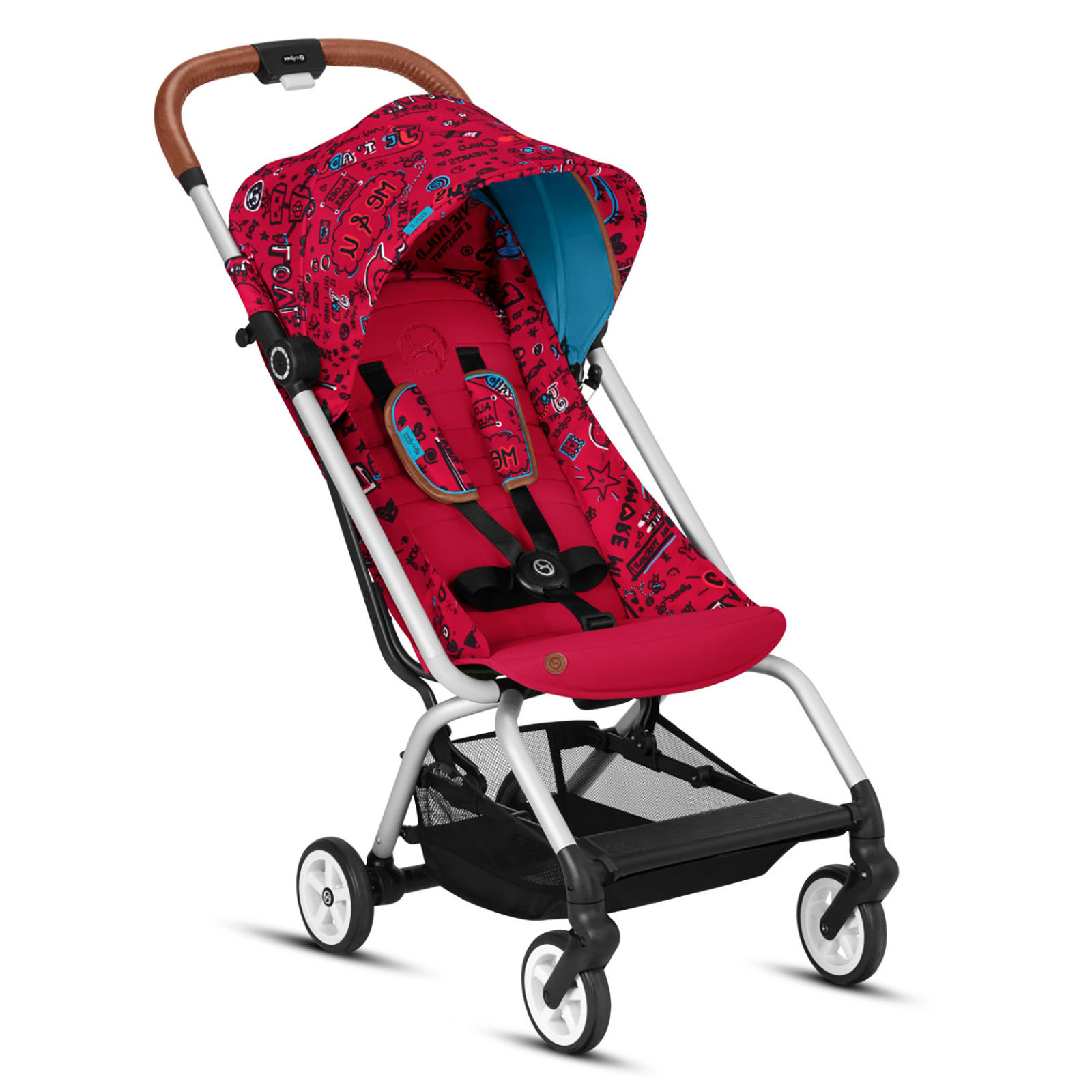 Cybex Stroller Eezy S Twist Cybex Eezy S Gold Fashion Edition Pushchair Stroller Love Red