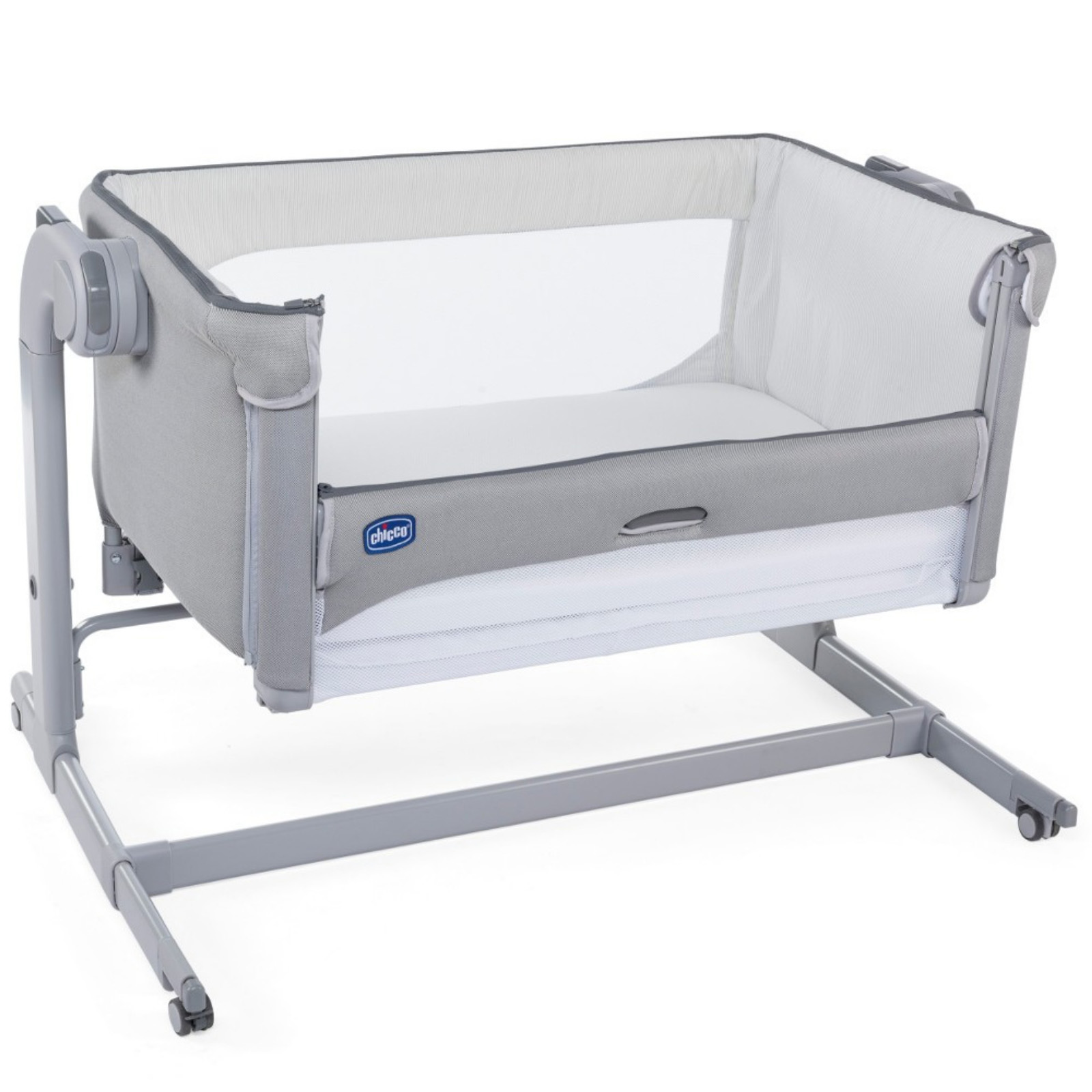 Baby Cots X2 Chicco Next2me Magic Crib Cool Grey Buy At Online4baby