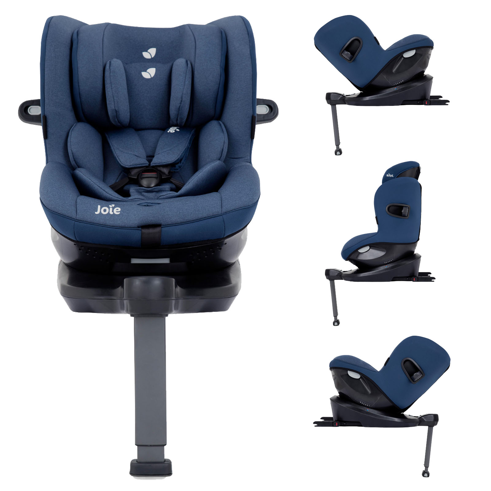 Joie Baby Head Office Joie I Spin 360 Isize Group 1 Car Seat Deep Sea Buy