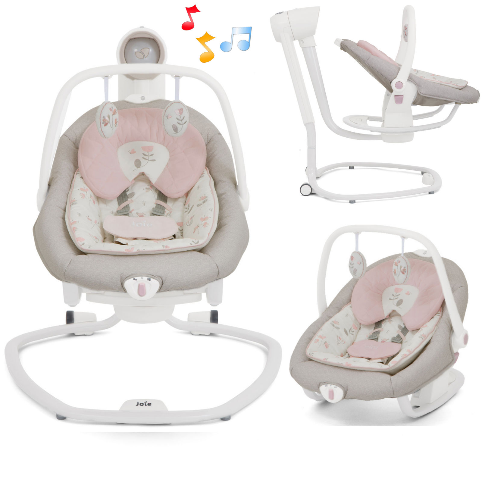 Joie Baby Swing Rocker Joie Serina 2in1 Swing Rocker Forever Flowers Buy At