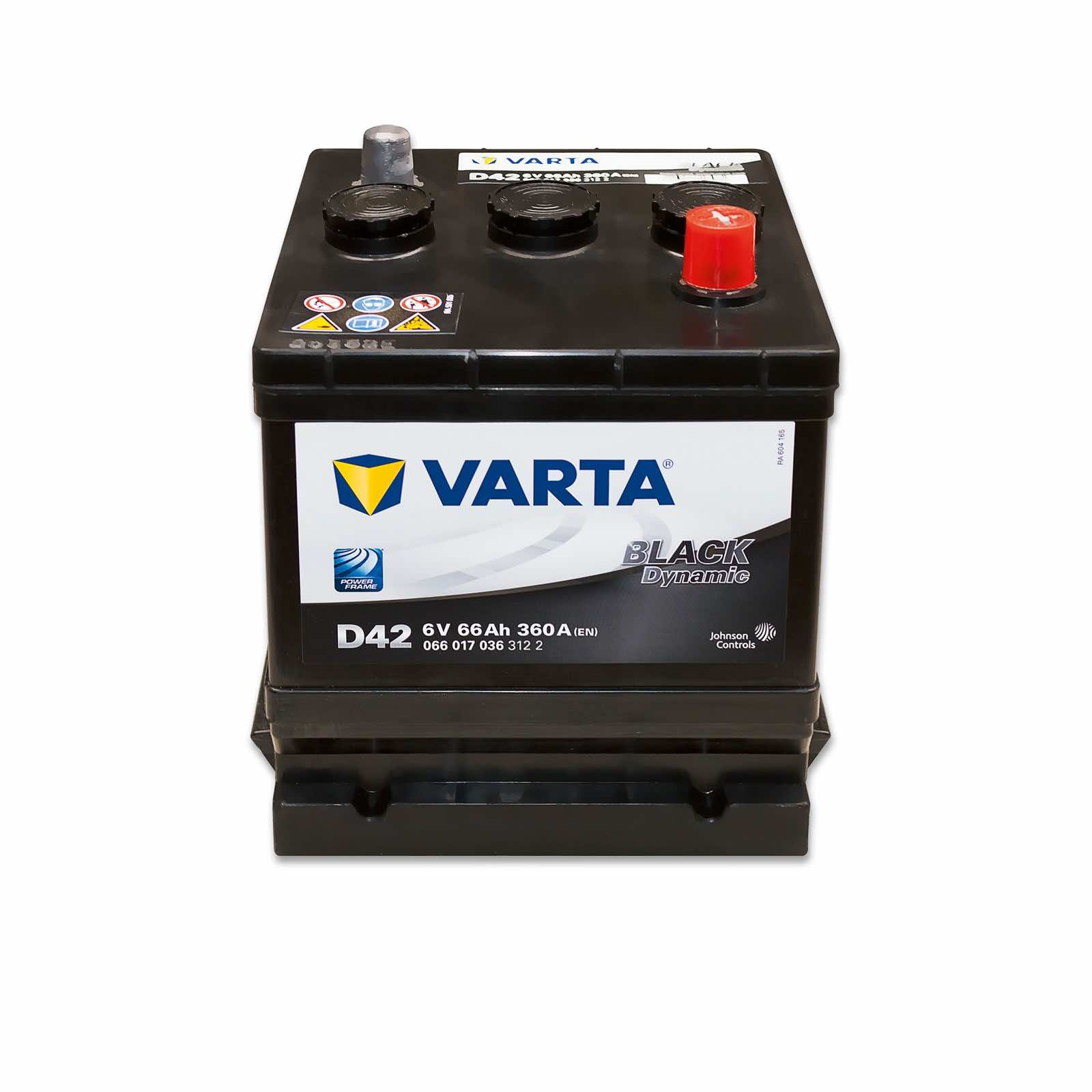 Voltage Auto Accu Varta D42w Black Dynamic 6v 66ah Online Battery