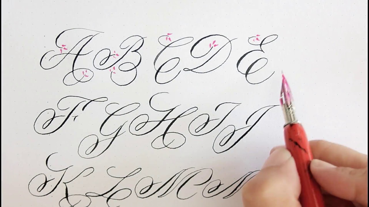 Calligraphy For Beginners Online Best Calligraphy Books To Learn Hand Lettering And Modern