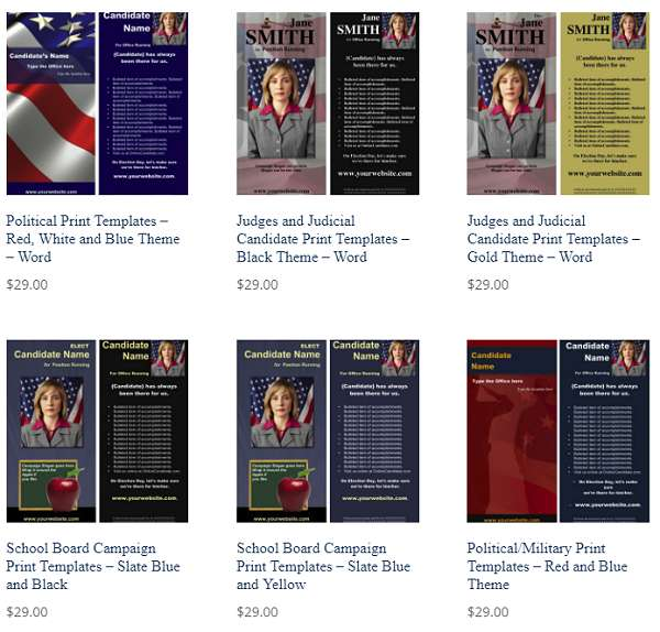 Tips for Creating a Great Political Campaign Brochure