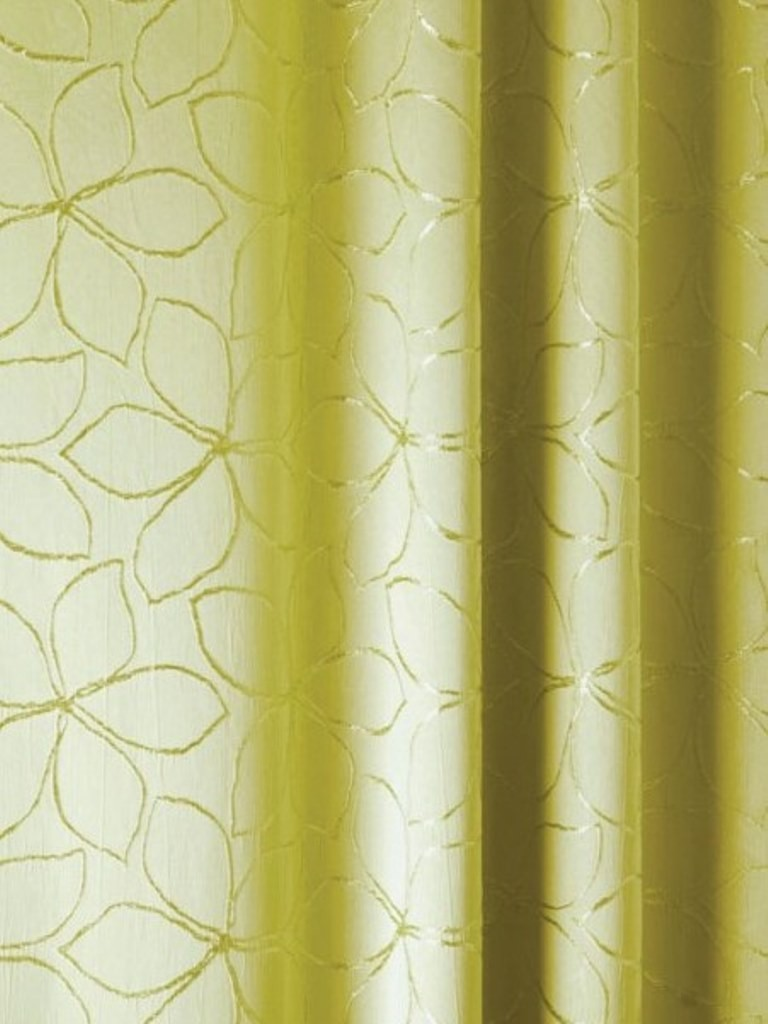 Gordijn Lime Groen Izolda Lime Curtain | Green Curtains | Colored Curtains