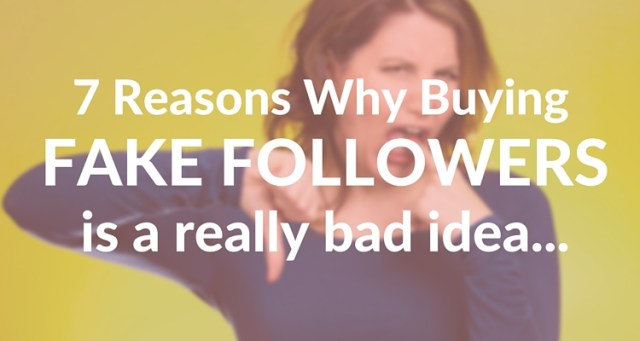 Buying Social Media Followers Feature Image
