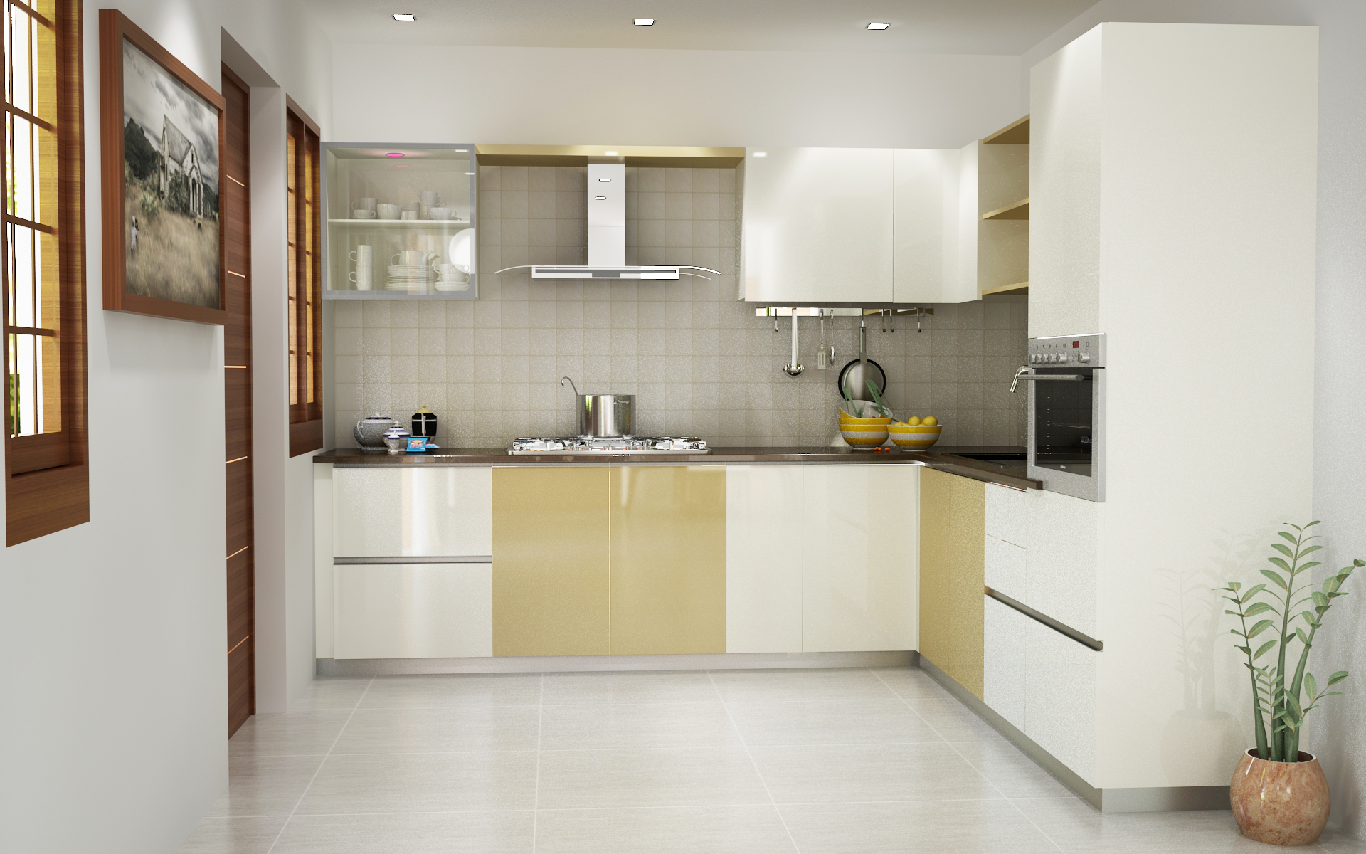 Modular Kitchen Design For L Shape Best Modular Kitchen Designs In Bangalore Customised