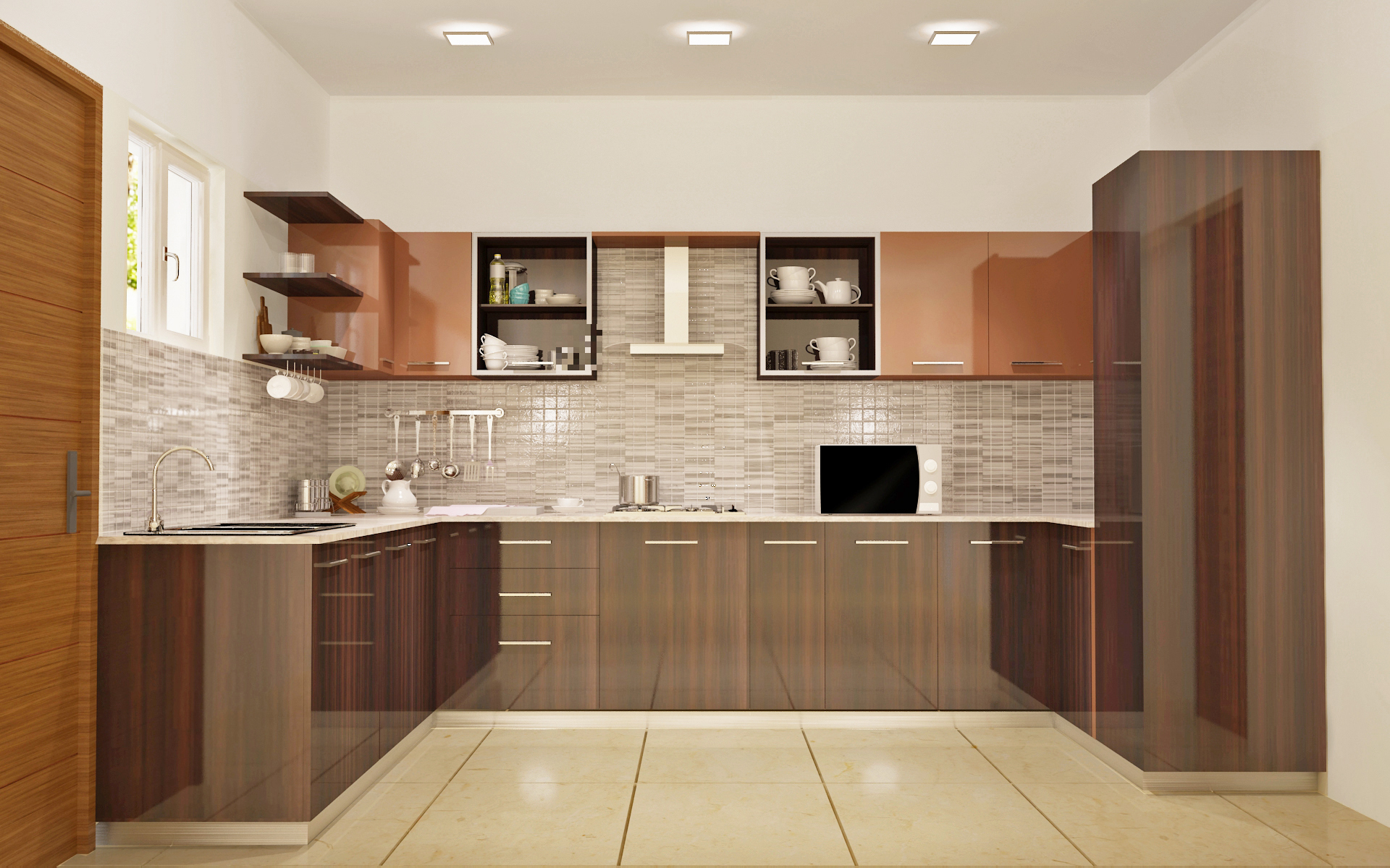 Modular Kitchen Design Courses In India Best Modular Kitchen Designs In Bangalore Customised