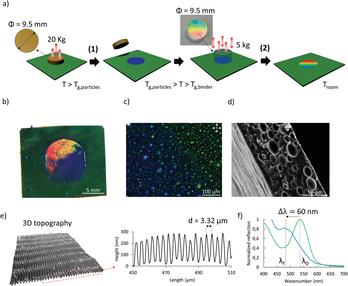 Brush Paintable Temperature And Light Responsive Triple Shape Memory Photonic Coatings Based On Micrometer Sized Cholesteric Liquid Crystal Polymer Particles Belmonte 2020 Advanced Optical Materials Wiley Online Library