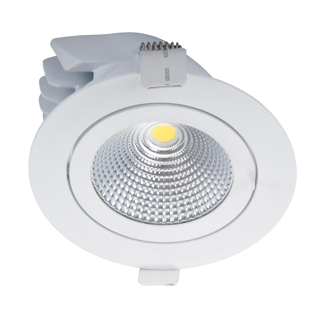 Led Downlights Au Scoop 25 Watt Dimmable Round Led Downlight White Warm