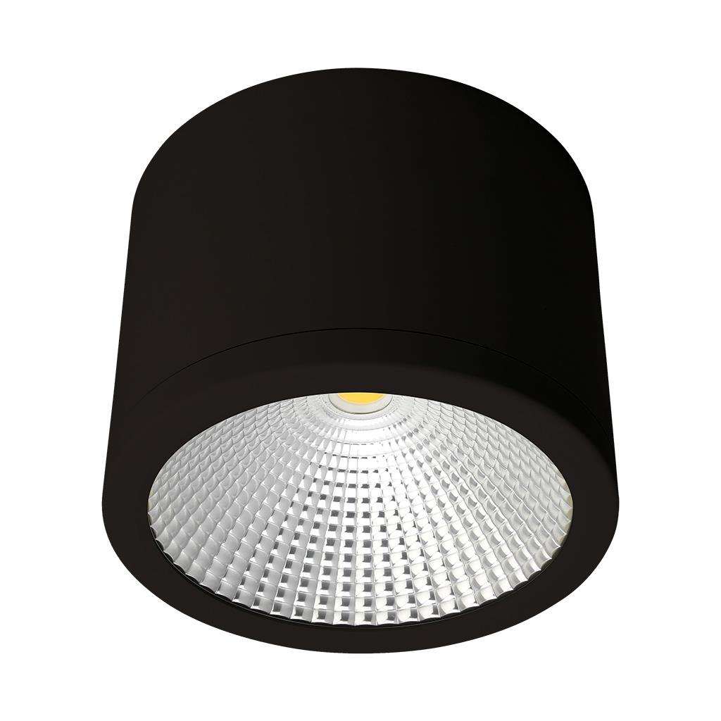 Led Downlights Au Neo 35 Watt Dimmable Surface Mounted Led Downlight Black