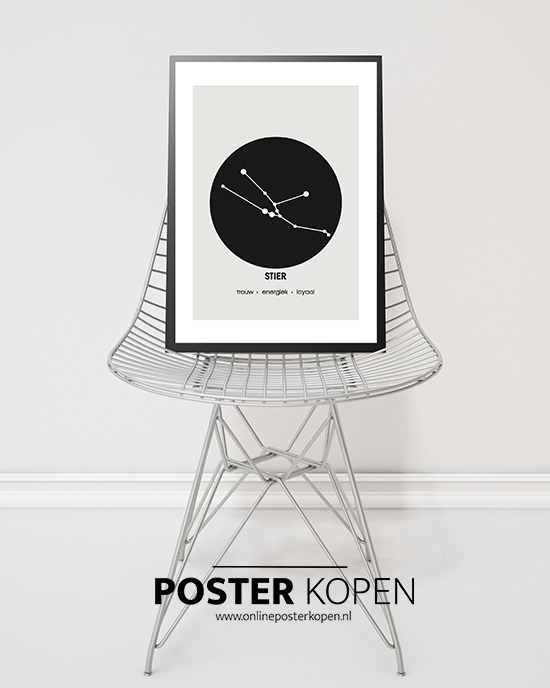Surprise Met Badkamer Sterrenbeeld Poster L Minimalistic Wall Art L Sterrenbeeld