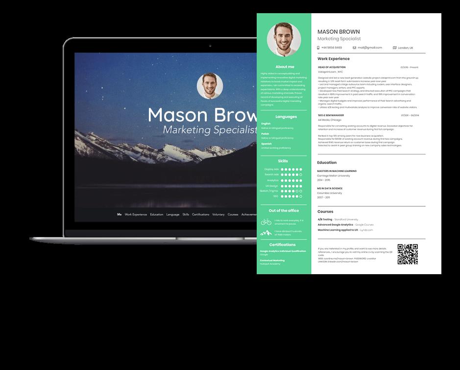 online stylish resume maker
