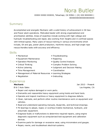 resumes examples grocer