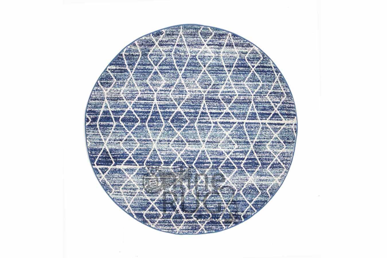 Online Rugs Charcoal Power Loomed Round Rug The Online Rug Store