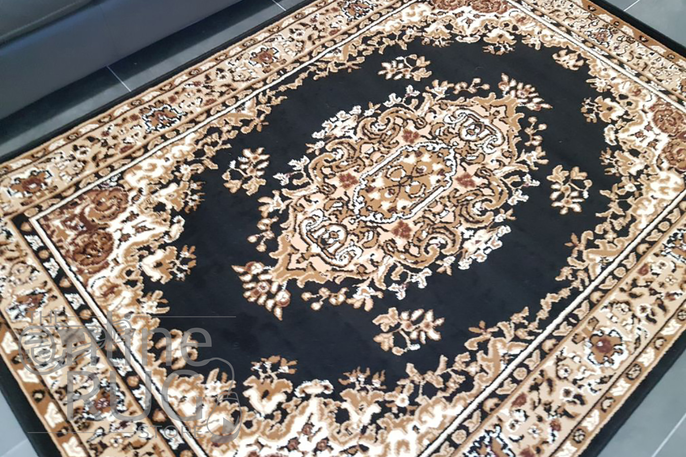 Online Rugs Traditional Black The Online Rug Store