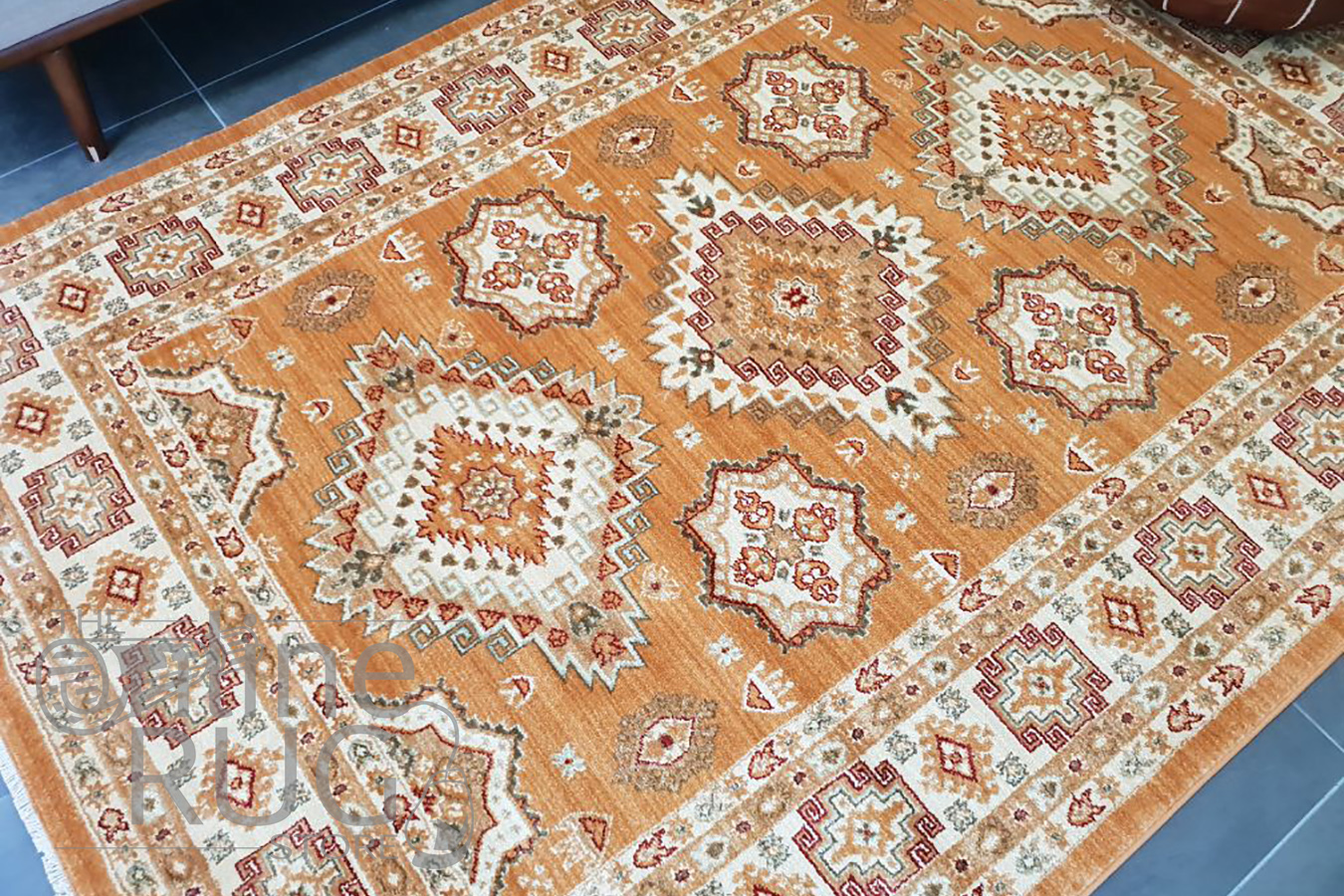 Online Rugs Mahala Gold Geometric Traditional Rug The Online Rug Store