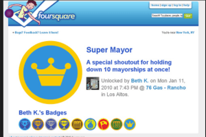 Foursquare-Friend Request on Foursquare
