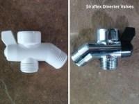 Shower Brass Diverter Valves